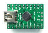 FT245 - FT245R - FT245RQ Development Board - FT245 Micro Module